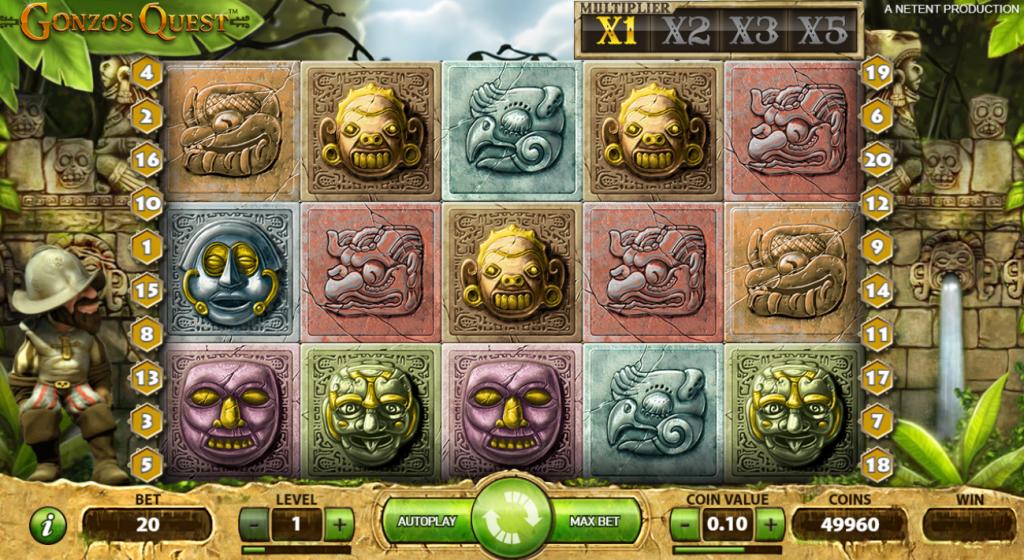 Gonzo's Quest Basisspel