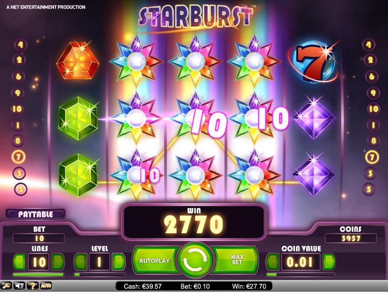 Starburst online gokkast