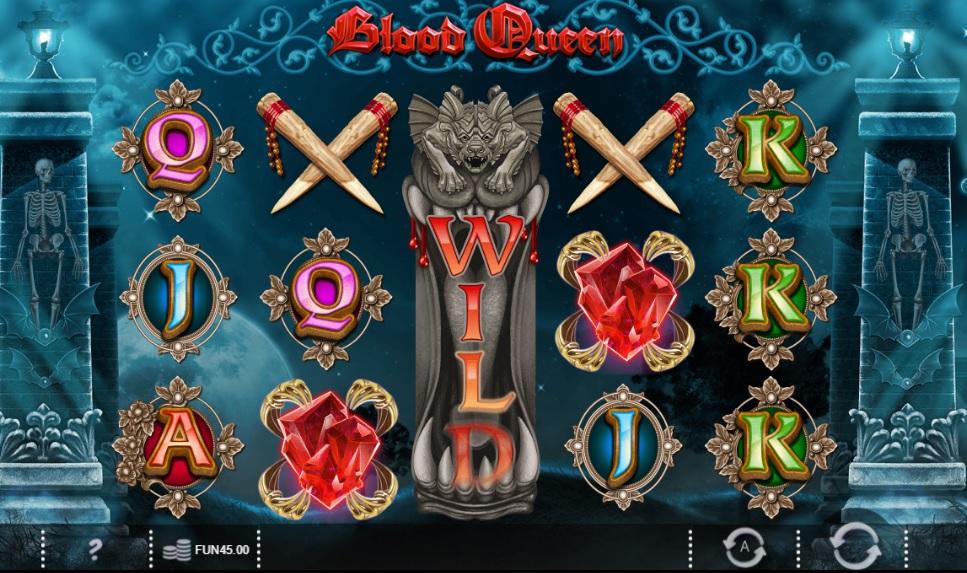 blood queen gokkast review