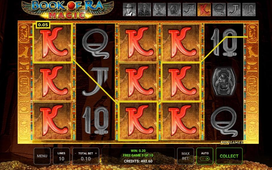 Novomatic - Book of Ra Magic online slot