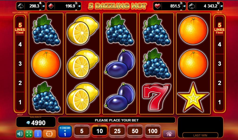 EGT Slots - 5 Dazzling Hot