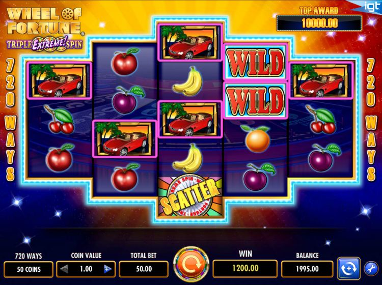 Wheel of Fortune Triple Extreme Spin slot review igt