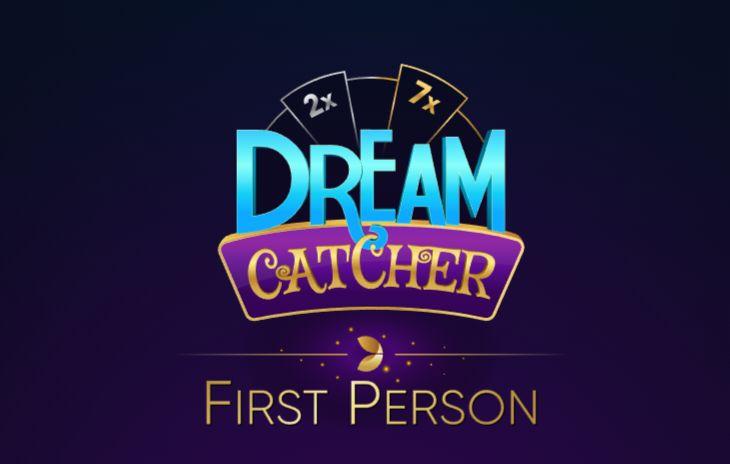 Dream Catcher First Person evolution gaming logo
