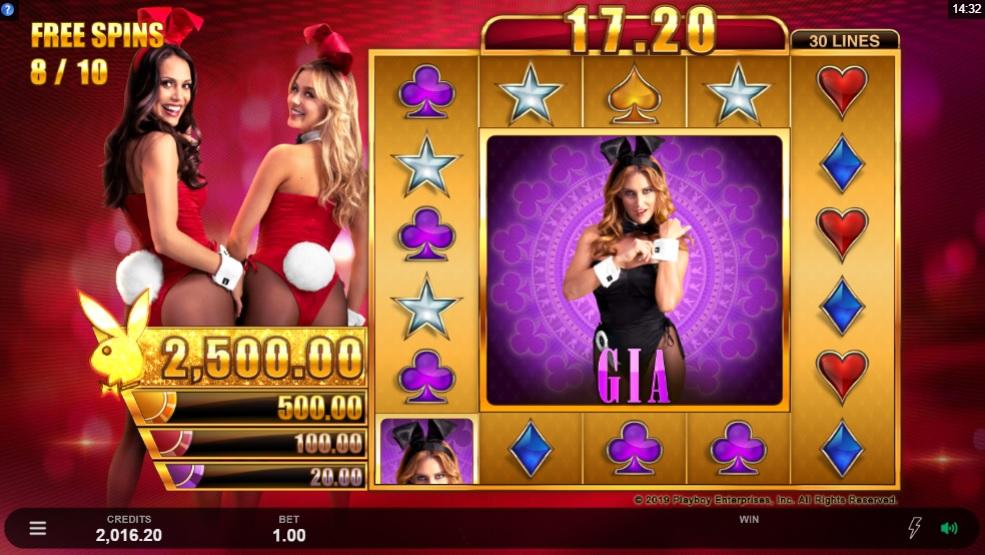 MG - Playboy Gold Jackpots slot