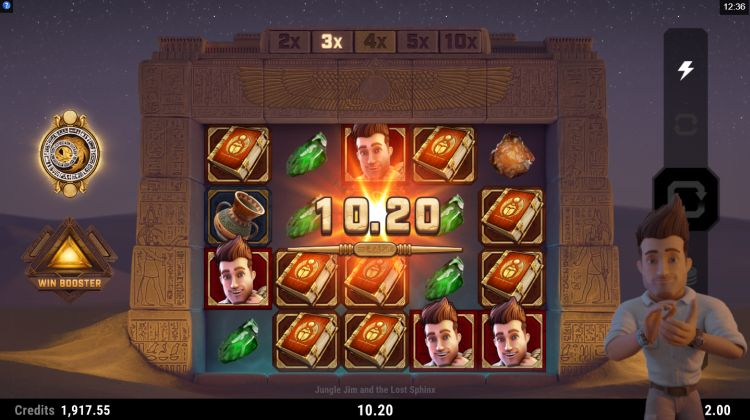 jungle jim and the lost sphinx microgaming review