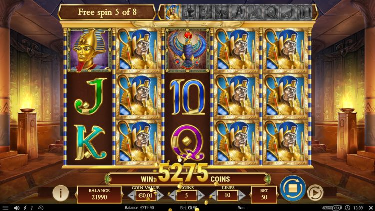Legacy of dead slot review play n go free spins win