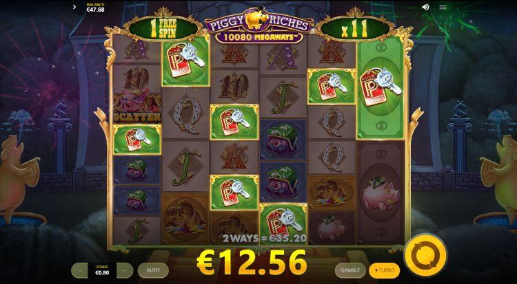 Piggy Riches Megaways slot review bonus big win