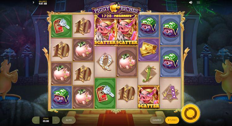 Piggy Riches Megaways slot review bonus trigger