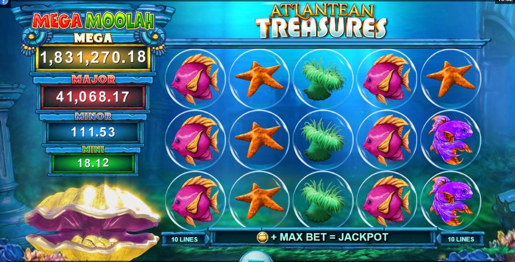 Atlantean Treasures online gokkastt