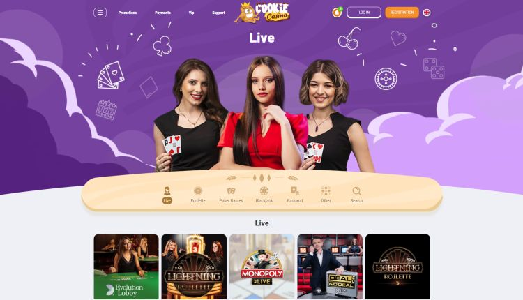 Cookie casino review live casino
