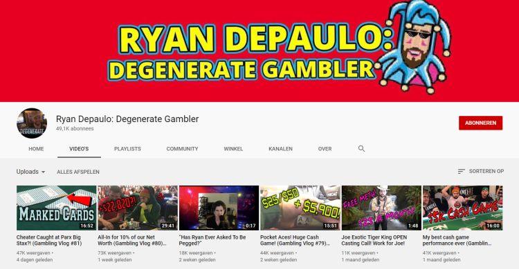 Youtube degenerate gambler las vegas