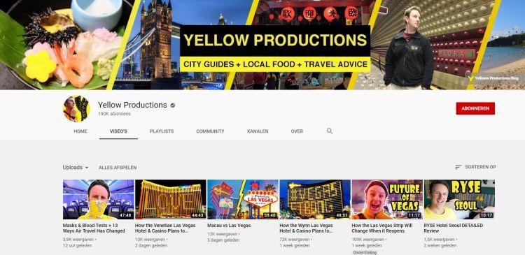 Youtube yellow productions las vegas