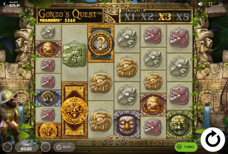 Gonzo's Quest Megaways review bonus trigger