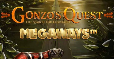 Gonzo's Quest Megaways review red tiger gaming logo