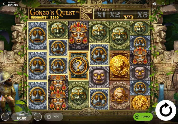 Gonzo's Quest Megaways review red tiger gaming mega win