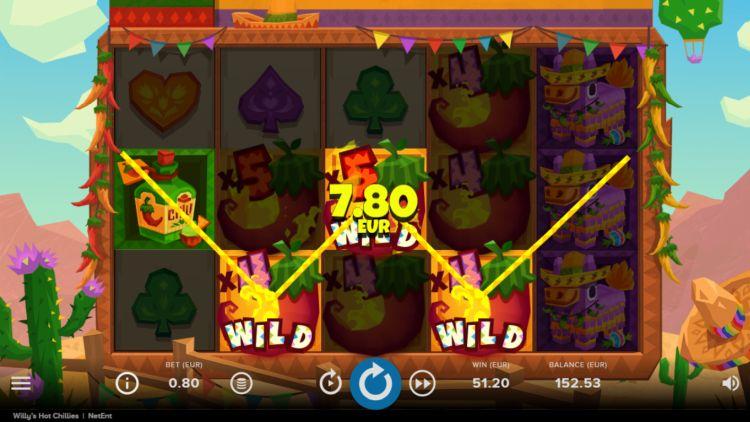Willy's Hot Chillies slot netent big win
