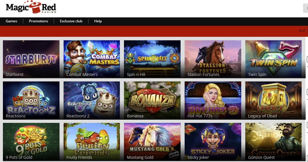 Magic Red Casino review