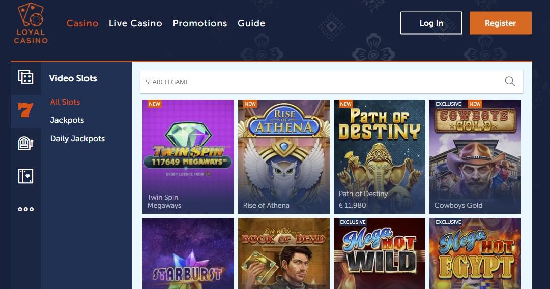 Loyal Casino betrouwbaar
