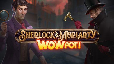 Sherlock and Moriarty slot review logo