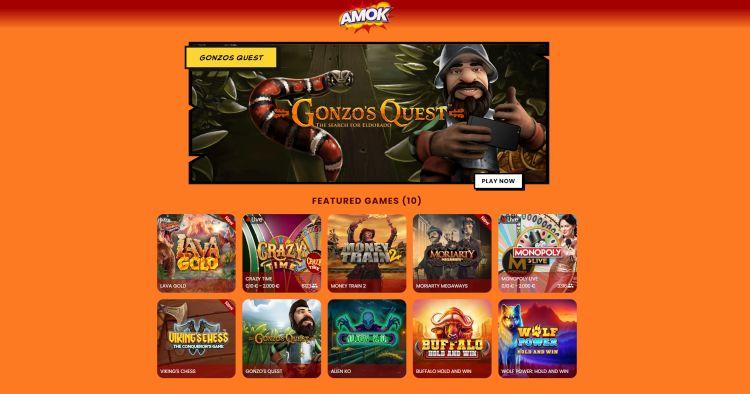 Amok Casino review